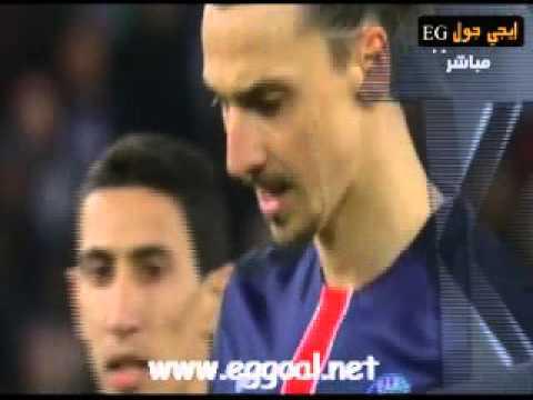 اهداف مباراة  باريس سان جيرمان ومانشستر سيتي || دورى ابطال اوربا دور 8 مباراة الذهاب 6-4-2016