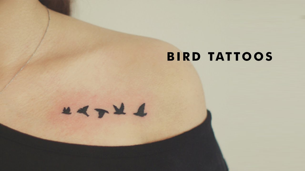 21 Beautiful Bird Tattoo Designs Youtube