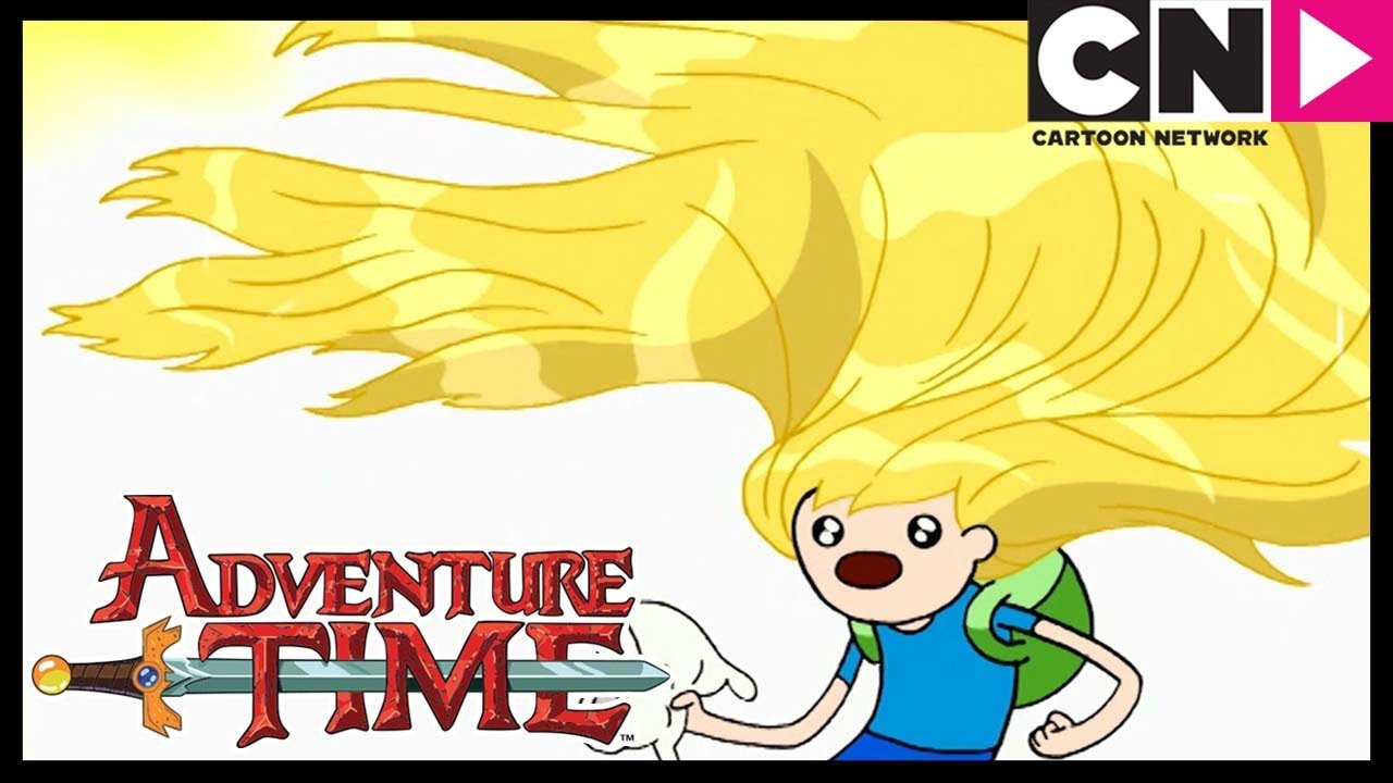 Adventure Time Finn S Beautiful Hair Saves The Day