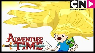 Adventure Time | Finn's Beautiful Hair Saves The Day! | Cartoon Network