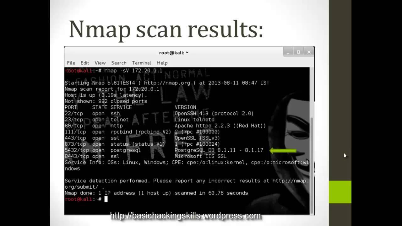 Attacking a Webserver Using Metasploit