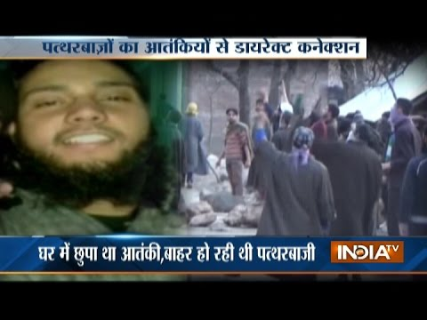 Stone Throwers Target Forces to Save Militants in Jammu & Kashmir
