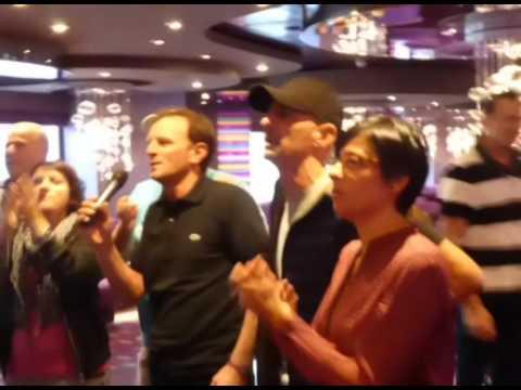 Karaoke on board M.S.C. Splendida