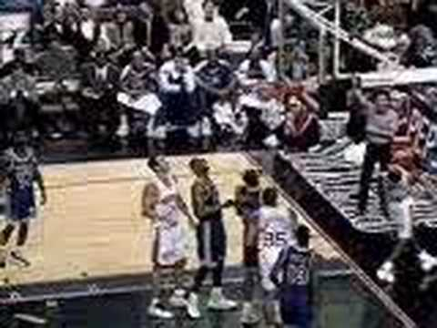 Allen Iverson breaks Kendall Gill