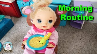 Baby Alive Morning Routine with Juliet
