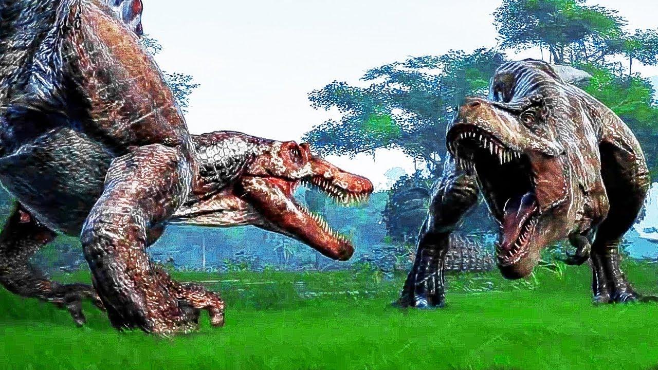 JURASSIC WORLD EVOLUTION Trailer (E3 2018) PS4 / Xbox One / PC