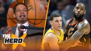 Chris Broussard compares Lonzo Ball to LeBron James, Talks OKC Thunder's Westbrook   THE HERD