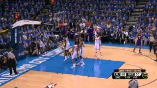NBA Playoffs 2012: Los Angeles Lakers Vs Oklahoma City Thunder Highlights May 21, 2012 Game 5 (1-4)