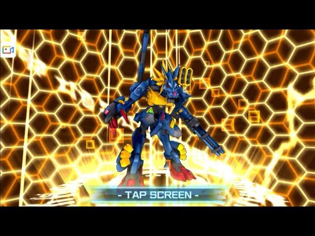 Digimon Linkz Evolution Metal Garurumon X [ ????????X?? ]