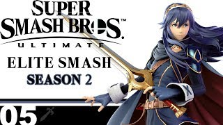 [SSBU Online]: Elite Smash Season 2 #5 - Lucina Live-Guide!