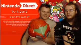 Nintendo Direct (September 2017) with Pap and Jakub   Reaction