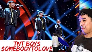 Скачать Little Big Shots TNT Boys Somebody To Love Fake Vocal Coach Reaction