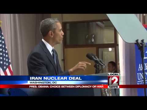Obama: Iran deal builds on diplomacy that won Cold War