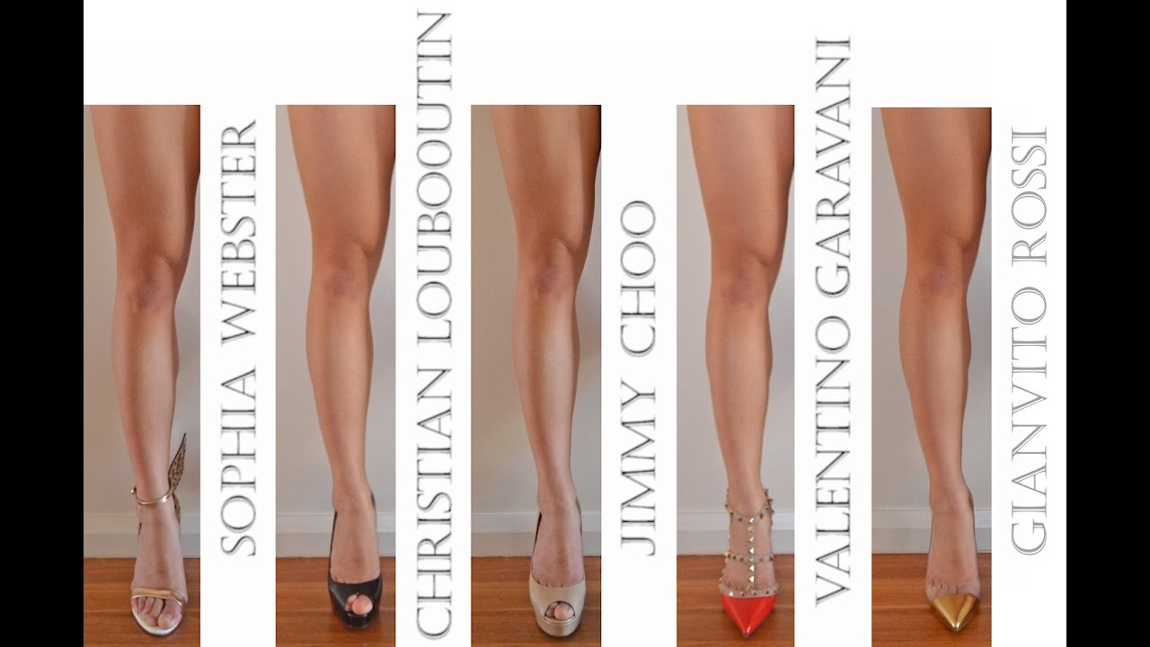 1172a183106 Designer Shoe Collection review - Jimmy Choo, Louboutin, Valentino,  Gianvito Rossi, Sophia Webster!