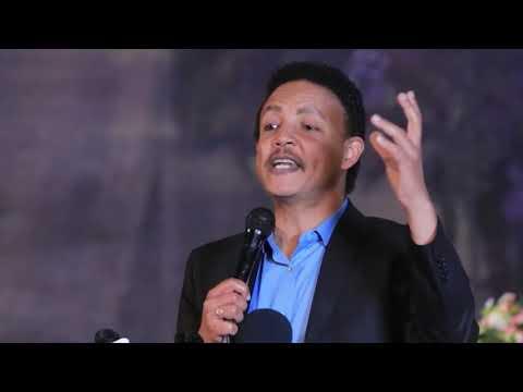 Ethiopian news – dr wodajeneh meharene  speech about  dr merera gudina political position