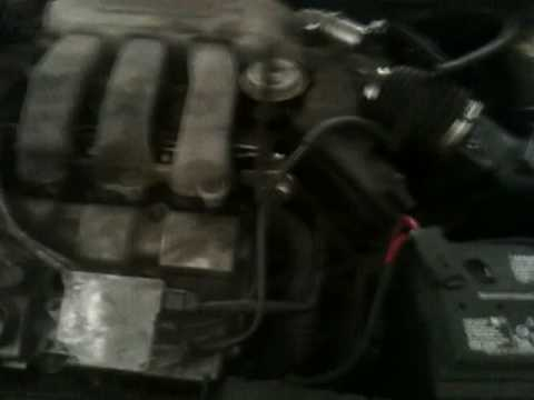 Car engine noise on startup