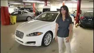 Jaguar XF-Portfolio: Expert Car Review by Lauren Fix