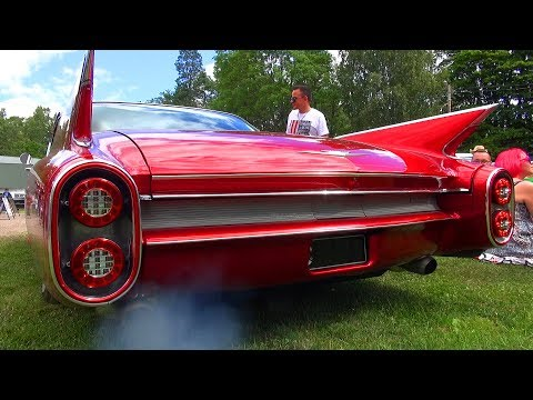 LIKE A SPACESHIP! Highly Customized '60 Cadillac Coupe DeVille - Sound
