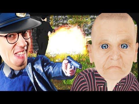 polizisten-greifen-meine-zombie-großmutter-an!-☆-granny-simulator