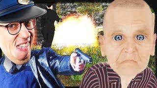 Polizisten greifen meine Zombie-Großmutter an! ☆ Granny Simulator