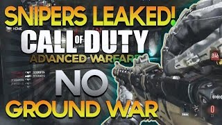 NEW Snipers in COD: Advanced Warfare, 1 Year in Obey, NO Ground War? - Scarce