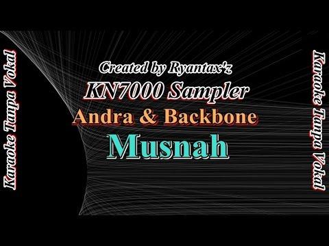 Karaoke Andra & Backbone   Musnah KN7000 Sampler
