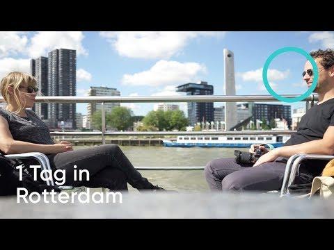 VLOG # 10 - 1 Tag in Rotterdam in 6 Min. - Sehenswürdigkeiten & Tipps / Follow us around