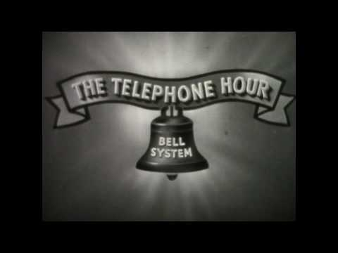 """The Bell Telephone Hour""- Josef Hofmann (1945)"