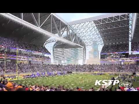 How The New Vikings Stadium ETFE Roof Will Handle Snow   YouTube
