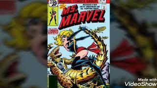 Carol danvers a.k.a Ms. Marvel and Captain Marvel tribute