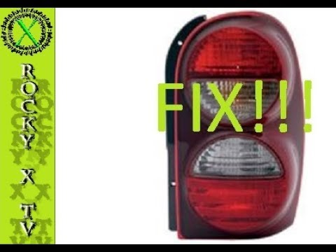 Jeep Liberty Tail Light Fix