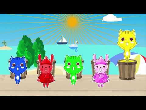 It's our KIDS bucket challenge learn colors with us and of course meet ours challenge
