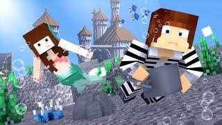 Minecraft : FUGIMOS PARA ATLÂNTIDA  !! - ( Polícia e Ladrão)