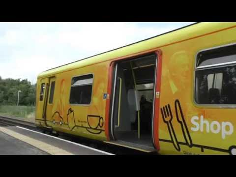 semi fast train on merseyrail northern line 18th august 2016