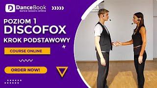 DiscoFox (2 na 1) -  Lekcja 1 - Krok Podstawowy - DanceBook.pl - Michał Gałek i Klaudia Kędzierska