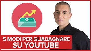 Come Guadagnare su Youtube - 5 strategie per monetizzare i tuoi sforzi