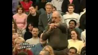 old man on jeremy kyle insults fat woman