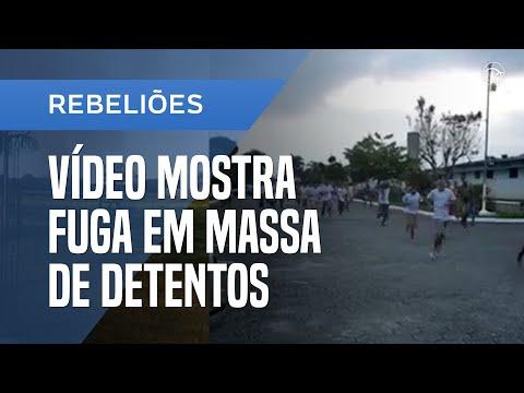 VÍDEO: MAIS DE 1,3 MIL PRESOS ESCAPAM DE PRESÍDIOS EM SP; VEJA A FUGA