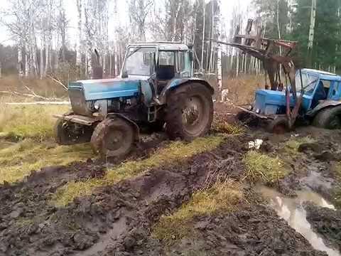 Смотреть онлайн видео Приколы пьяных трактористов в