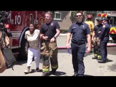 San Diego: Hoarder's House Fire 05162018
