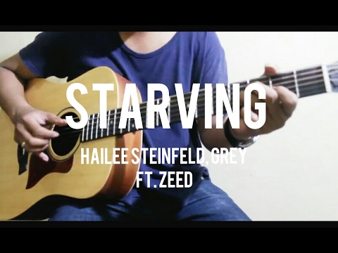 Starving - Hailee Steinfeld, Grey ft. Zedd Guitar