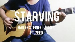 Starving - Hailee Steinfeld, Grey ft. Zedd Guitar