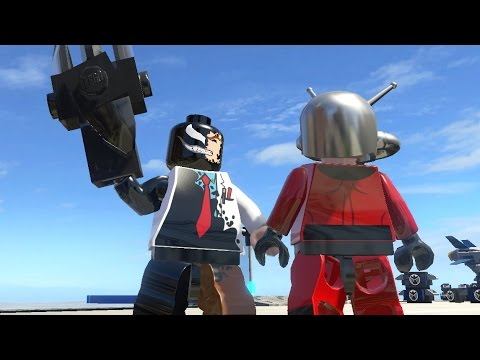 ANT-MAN VS SYMBIOTE SCIENTIST - LEGO Marvel Super heroes - YouTube