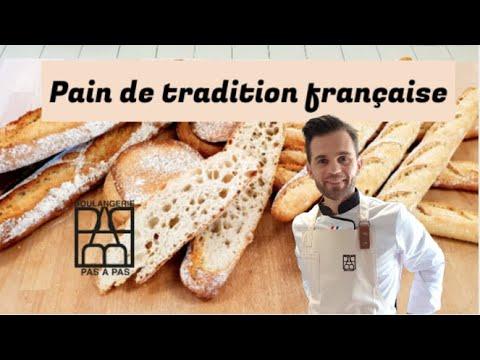 Boulangerie Pas à Pas N°20: Le pain de tradition française. CAP boulanger