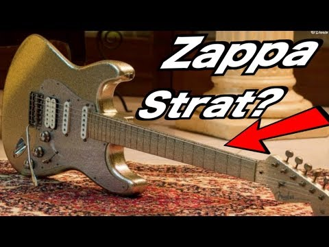 What's This Crazy Backwards-Reverse Strat Have To Do With Zappa? | WYRON