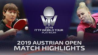 Яна Носкова vs Liu Weishan | Austrian Open 2019 (Pre)