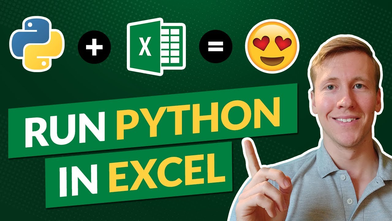 How to Run Python in an Open Excel Workbook | Combine Excel & Python | xlwings Tutorial