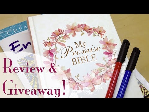 Journaling Bible Review: KJV My Promise Bible (Giveaway closed)