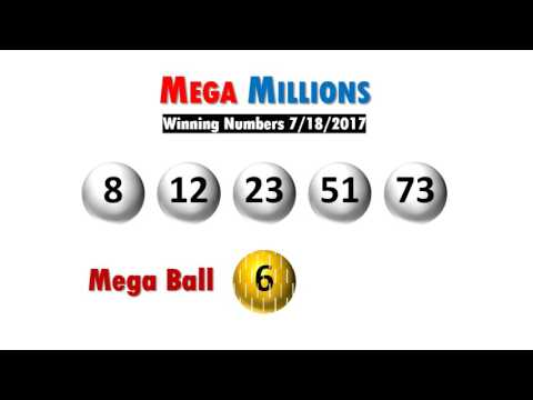 Mega Millions winning numbers drawing Tuesday 07/18/17