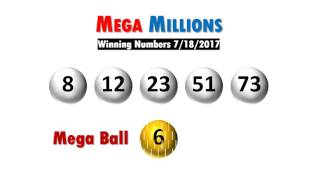 Mega Millions winning numbers drawing Tuesday 07/18/17